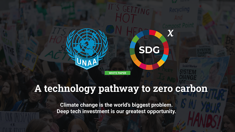 A technology pathway to zero carbon
